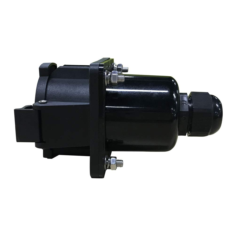 KHONS J1772 32a Receptacle Type 1 Vehicle Side Inlet EVSE Connector (32 Amp, 110V-240V) 4 Point Fixing North American Standard UL Rated by K.H.O.N.S. (Image #3)