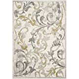 Safavieh Amherst Collection AMT428E Ivory and Light Grey Indoor/ Outdoor Area Rug (6′ x 9′) Review