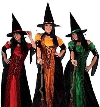 Atosa - Disfraz de bruja para mujer, talla 48 (8422259049326 ...