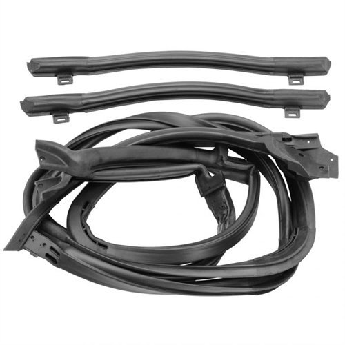 SoffSeal 3189 T-Top Weatherstrip Kit 1978-1981 F-Body Set ()