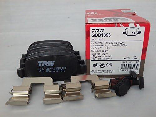 TRW Automotive AfterMarket GDB496 Pastiglia freno