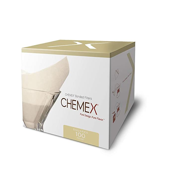 Chemex, Filter Folded Square, 100 Count
