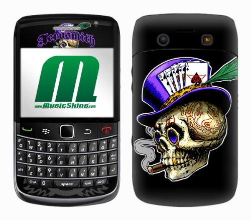 MusicSkins MS-AERO30043, Aerosmith - Poker Skull, BlackBe...