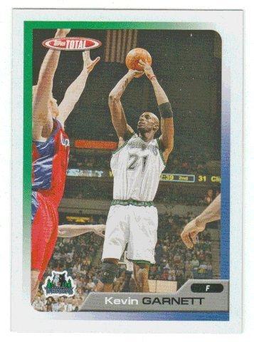 Kevin Garnett (Basketball Card) 2005-06 Topps Total # 17 - Team Checklist 06 Topps Team Basketball Card