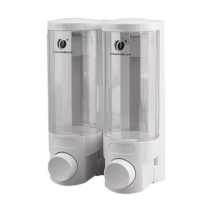 ZY dispensador de jabón, dispensador de jabón montado en la pared, caja de jabón