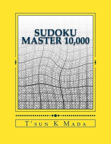 Download Sudoku Master 10,000: 10,000 Challenging Sudoku Puzzles ebook