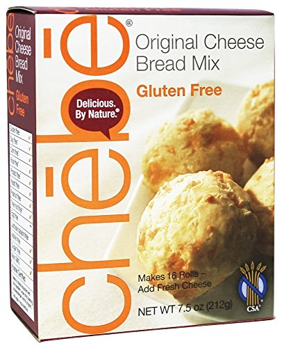 Chebe Bread Original Cheese Bread Mix, Gluten Free,7.5 Oz Bags,2 Pack