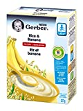 Gerber Rice Banana Cereal, Complete, Stage 2, 227g box (6 pack)