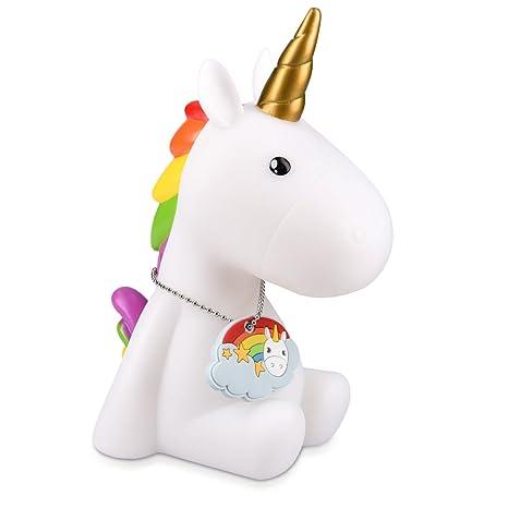 Navaris Luce Notturna Led Unicorno Lampada Per Bambini Lucina Da