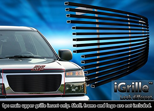 Off Roader Black Stainless Steel eGrille Billet Grille Grill for 2004-2012 GMC Canyon ()