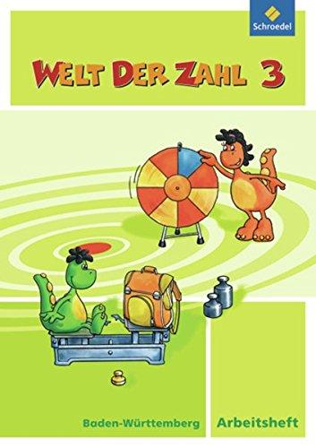 Welt der Zahl - Ausgabe 2010 für Baden-Württemberg: Arbeitsheft 3