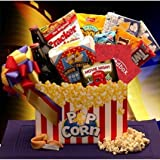 Gift Basket Drop Shipping 820112-RB10 Movie Night Mania Gift Box With 10.00 Redbox Gift Card