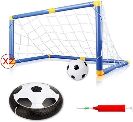 FOONEE - Juego de 5 Pelotas de fútbol para Interiores con Luces ...