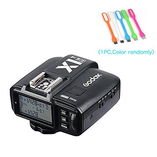Godox X1N i-TTL Wireless 2.4 G Flash Remote Trigger Transmitter for Nikon cameras (X1T-N) + CONXTRUE USB LED Free Gift by Godox