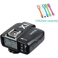 Godox X1N i-TTL Wireless 2.4 G Flash Remote Trigger Transmitter for Nikon cameras (X1N-T) + CONXTRUE USB LED Free Gift