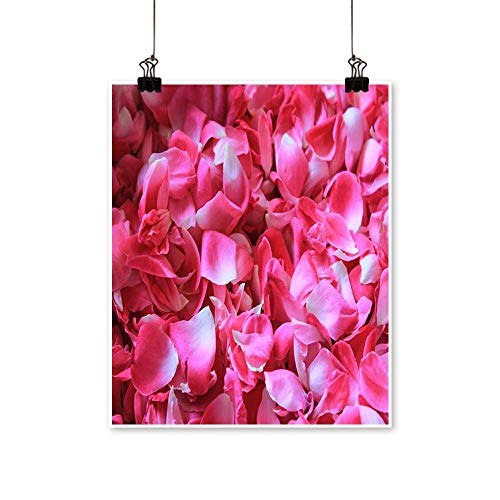 Canvas paintingA Pile of Pink Rose Petals Artwork for Living Room Decorations,28