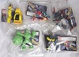 Gacha HG series Kikaider all five (Kikaider, Hakaider, side machine, sponge Green, Android Man)