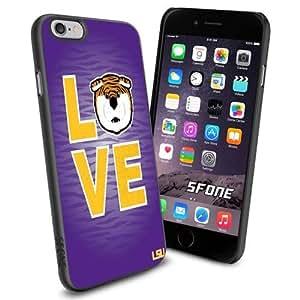 Louisiana State University (LSU) NCAA Silicone Skin Case Rubber Iphone 6 Case Cover
