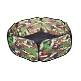 Oasis Plus Outdoor Indoor Camouflage Hexagon Ball Pit Pool Toy Game Play Tent for Kids Children Boys Girls