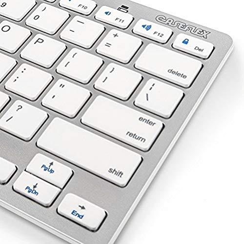 Caseflex Ultra Slim Wireless Bluetooth Keyboard For All iOS