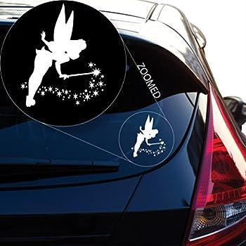 cr//13 Gothic FAIRY Sticker Car//Bike//Wall//Window *Colour /& Size Choice*