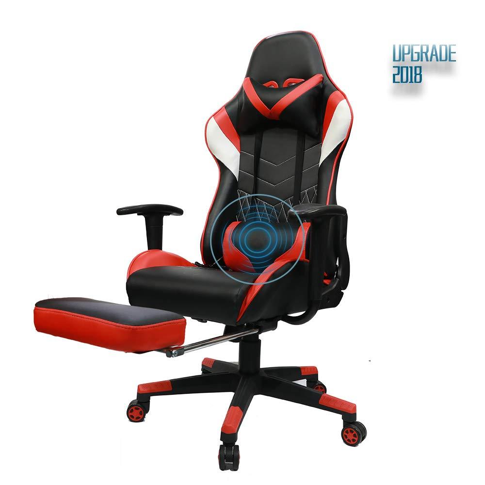 Cool Dowinx Gaming Chair Ergonomic Racing Style Recliner Massage Evergreenethics Interior Chair Design Evergreenethicsorg