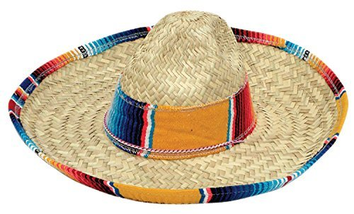 Jacobson Hat Company Child's Sombrero with Serape Band, Multicolor by Jacobson Hat (Sombrero Hat With Serape Band)
