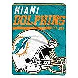 "NFL Miami Dolphins ""40-Yard Dash"" Micro Raschel"