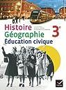 Histoire-Géographie Education civique 3e éd. 2012 - Manuel de l'élève (format compact) par Vautier