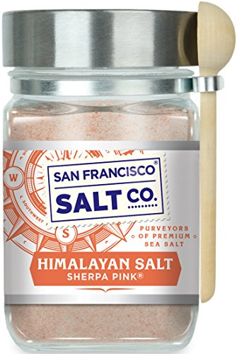 8 Oz Chef's Jar - Sherpa Pink Himalayan Salt