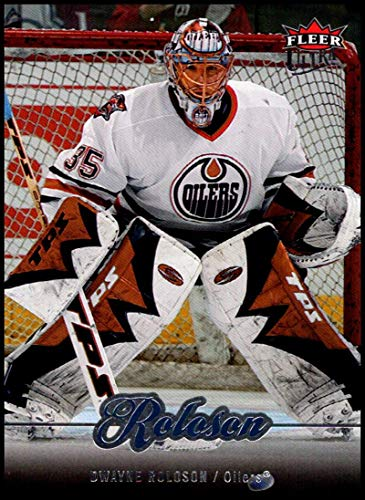 2007-08 Ultra #120 Dwayne Roloson NM-MT Edmonton Oilers Official NHL Hockey Card -