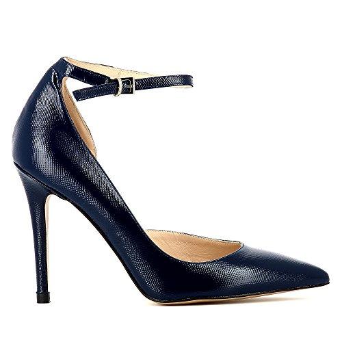 Evita Shoes Alina - Zapatos de vestir de Piel para mujer Azul