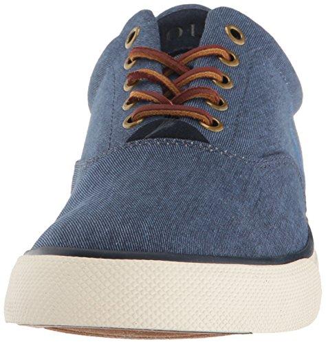 Polo Ralph Lauren Mens Vaughn Sneaker Newport Navy ... 3b1d37e4200