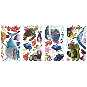 Defonia Finding Nemo 44 Big Wall Decals Kids Bathroom Stickers Room Decor  Fish R1