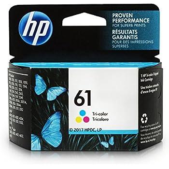 HP 61 Ink Cartridge, Tri-color (CH562WN)