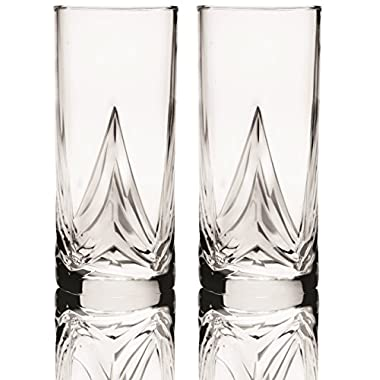 Circleware  CG Society Tivoli  Glass Drinking Glasses, Set of 4, 16 Ounce,Limited Edition Glassware
