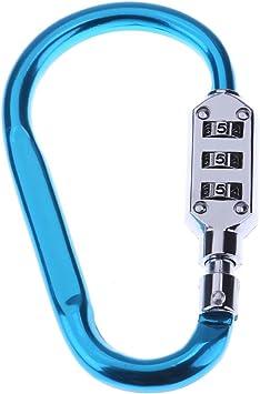 Xintiandi® Práctico candado de metal para casco con ...