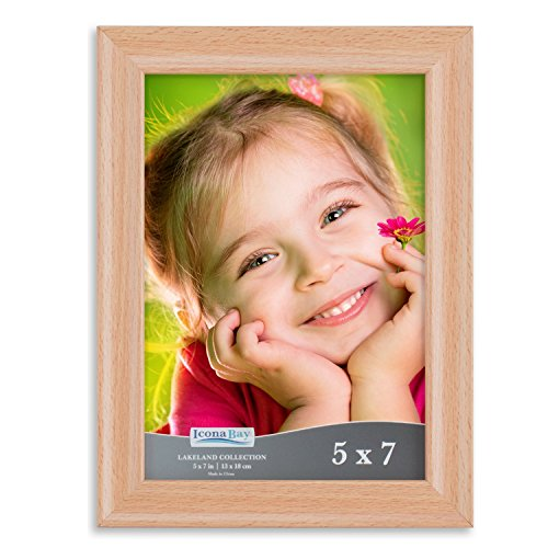 Icona Bay 5x7 Picture Frame:  Wood Picture Frames, Photo Fra