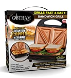 GOTHAM STEEL Maker, Toaster and Electric Panini