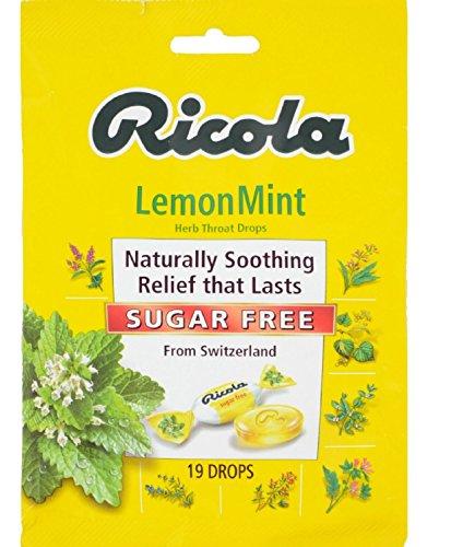 Ricola Sugar Lemon Cough Drops