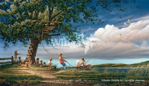 Spring Fever by Terry Redlin Limited Edition Print of 29500 Signed & Numbered