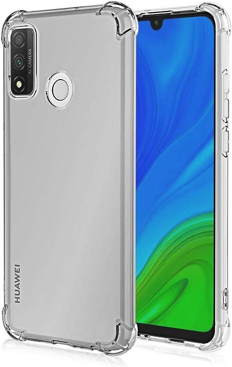 FLHTZS Funda para Huawei P Smart 2020,TPU Ultrafino,Altamente Transparente,no deformable,Duradero,Engrosado en Cuatro Esquinas,Caja del teléfono Anti-caída: Amazon.es: Electrónica