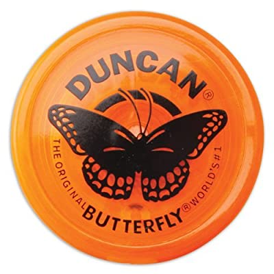Genuine Duncan Butterfly Yo-Yo Classic Toy - Orange: Toys & Games