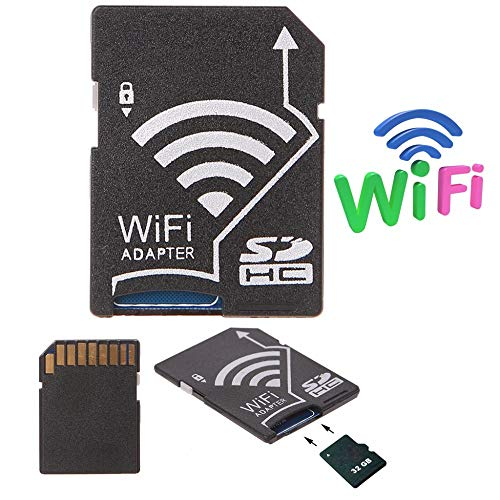 South-Dragon - Micro SD SDHC TF Card To SD Card Wifi Adapter For Camera Po Wireless To Phone Tablet High Qaulity C26