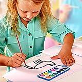 Watercolor Paint Set for Kids - Bulk Set of 12