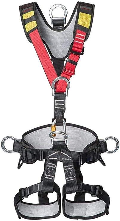 SXSHYUJE Arnés de Escalada Arnés de Seguridad para montañismo ...