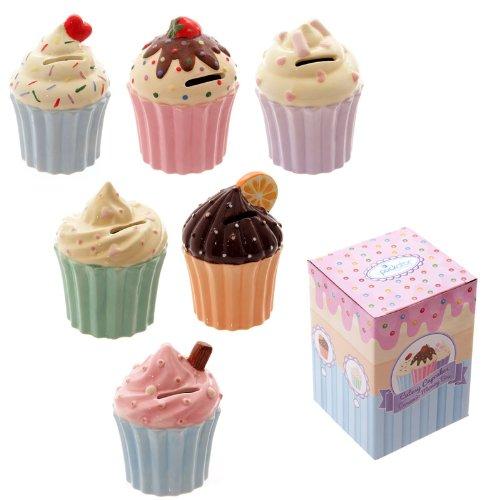 Original Piggy Bank Ceramic Cupcake]()