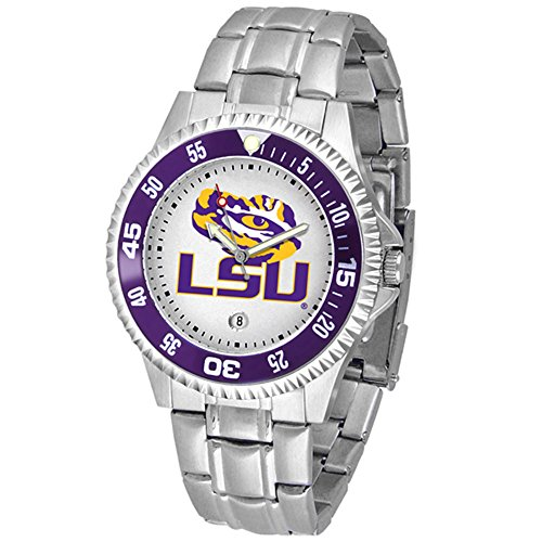 LSU Tigers Competitor Steel Men's Watch (Competitor Steel Watch Tigers)