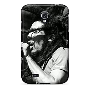 Shock Absorbent Cell-phone Hard Covers For Samsung Galaxy S4 With Provide Private Custom Fashion Bob Marley Pictures MansourMurray
