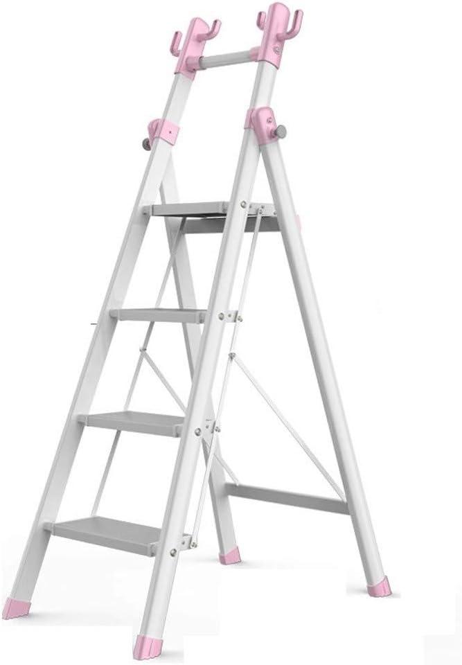 Diseño Portátil Escaleras portátiles al aire libre Familia Pies de acero al carbono antideslizante de goma multifunción portátil plegable pedal Ensanchamiento Barandilla de escalera La instalación es: Amazon.es: Hogar